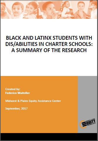 Black And Latinx Students With Dis/Abilities In Charter Schools: A Summary Of The Research