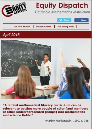 Equitable Mathematics Instruction