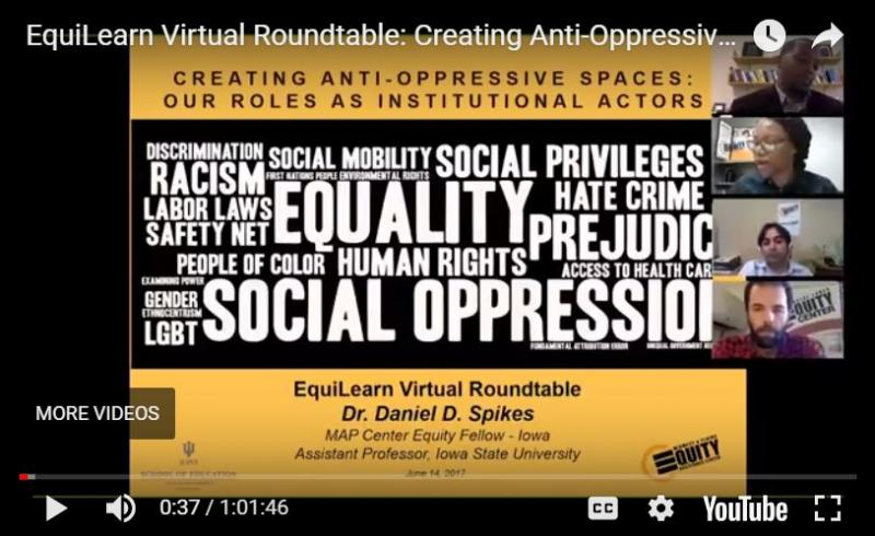 EquiLearn Virtual Roundtable: Creating Anti-Oppressive Spaces: Our Roles as Institutional Actors