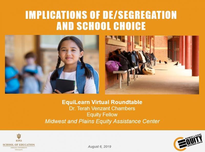 Implications of De/segregation and School Choice