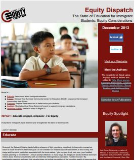 The State of Education for Immigrant Students: Equity Considerations