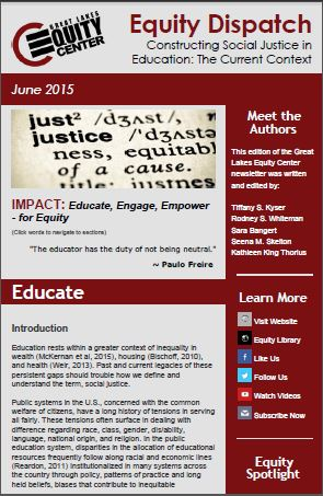 Constructing Social Justice in Education: The Current Context