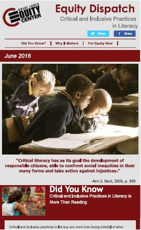 Critical and Inclusive Practices in Literacy
