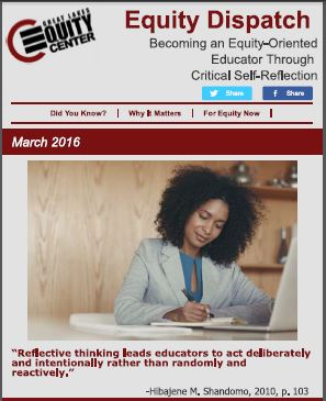 Becoming an Equity-Oriented Educator Through Critical Self-Reflection