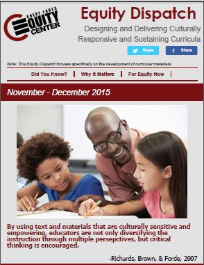 Designing and Delivering Culturally Responsive and Sustaining Curricula