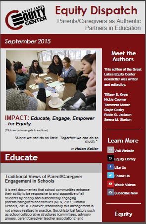 Parents/Caregivers As Authentic Partners in Education
