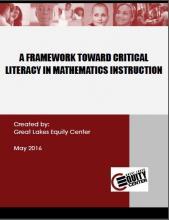 A Framework Toward Critical Literacy in Mathematics Instruction