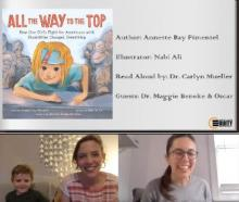 A Virtual Little Library for Staying Connected—II. All the Way to the Top: How One Girl's Fight for Americans with Disabilities