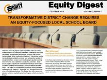 Transformative District Change Requires an Equity-Focused School Board