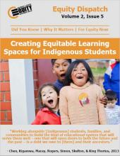 Creating Equitable Learning Spaces for Indigenous Students