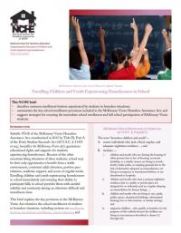 McKinney-Vento Law into Practice Brief Series: Enrolling Children and Youth Experiencing Homelessness in School