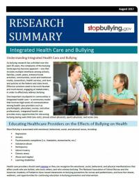 Integrated Health Care and Bullying