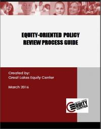 Equity-Oriented Policy Review Process Guide