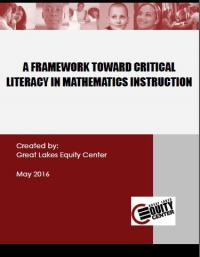 A Framework Toward Critical Literacy in Mathematics Instruction