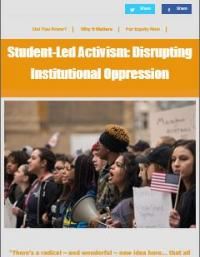 Student-Led Activism: Disrupting Institutional Oppression cover
