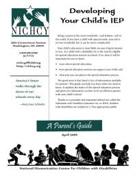 Developing Your Child's IEP: A Parent's Guide
