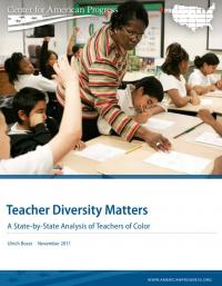 Teacher Diversity Matters: A State-by-State Analysis of Teachers of Color