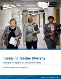 Increasing Teacher Diversity: Strategies to Improve the Teacher Workforce