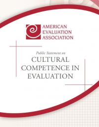 Public Statement on Cultural Competence in Evaluation