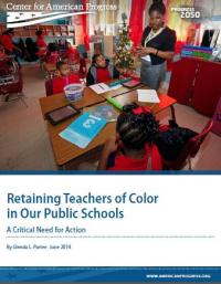 Retaining Teachers of Color in Our Public Schools: a Critical Need for Action