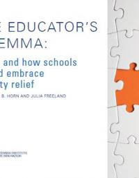 The Educator's Dilemma: When and How Schools Should Embrace poverty Relief
