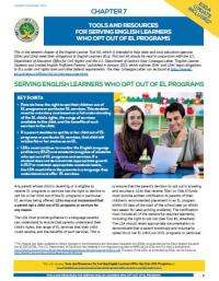 Chapter 7:Tools and Resources for Serving English Learners Who Opt Out of EL Programs