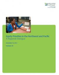 Equity Priorities in the Northwest and Pacific: A Regional Dialogue