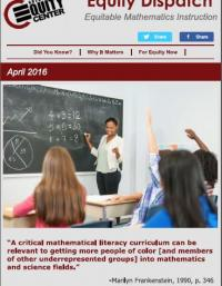 Equitable Mathematics Instruction