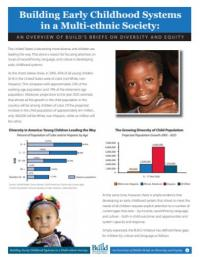 Building Early Childhood Systems in a Multi-ethnic Society