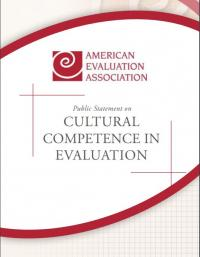 Cultural Comptence in Evaluation: Public Statement