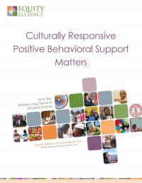 culturally responsive positive Behavior support Matters