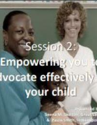 Empowering you to Advocate Effectively for your Child