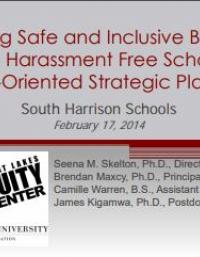 Ensuring Safe and Inclusive, Bullying and Harassment Free Schools
