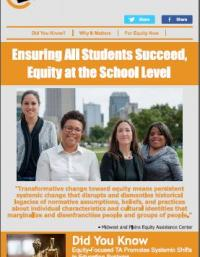 Ensuring All Students Succeed, Equity at the School Level