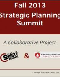 Appleton Area Schools: Fall 2013 Strategic Planning Summit