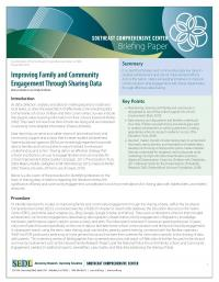 Improving Family and Community Engagement through Sharing Data