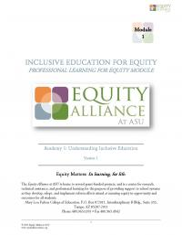 Inclusive Education for Equity Academy 1 - Understanding Inclusive Education (PHs)