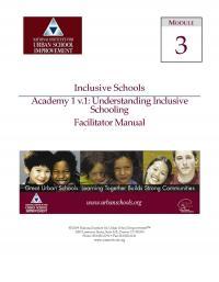 Inclusive Schools Academy 1: Understanding Inclusive Schools (FM)