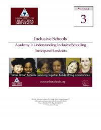 Inclusive Schools Academy 1: Understanding Inclusive Schools (PHs)