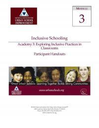 Inclusive Schools Academy 3: Exploring Inclusive Practices in Classrooms (PHs)