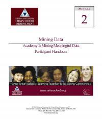 Mining Data Academy 1 - Mining Meaningful Data (PHs)