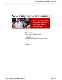 New Emphasis on Learning