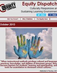 Culturally Responsive and Sustaining Learning Environments