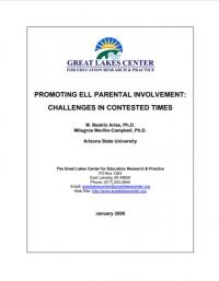 Promoting ELL Parental Involvement: Challenges in Contested Times