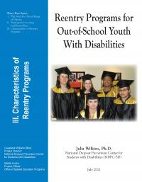 Reentry Programs for Out-of-School youth with Disabilities