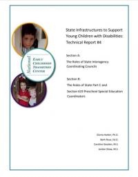 State Infrastructures to Support Young Children with Disabilities