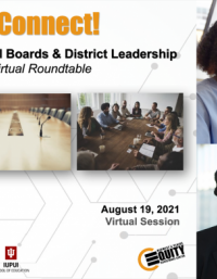 Equity Connect! Centering Equity in School Boards & District Leadership cover image