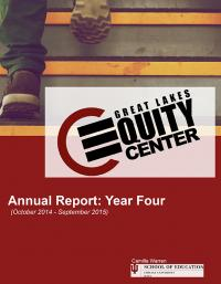 GLEC Annual Report Year Four cover
