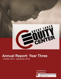 GLEC Annual Report Year Three cover