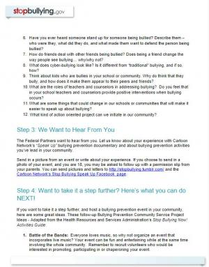 Youth Engagement Toolkit by Stop Bullying
